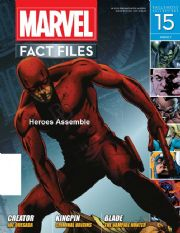 Marvel Fact Files #15 Eaglemoss Publications